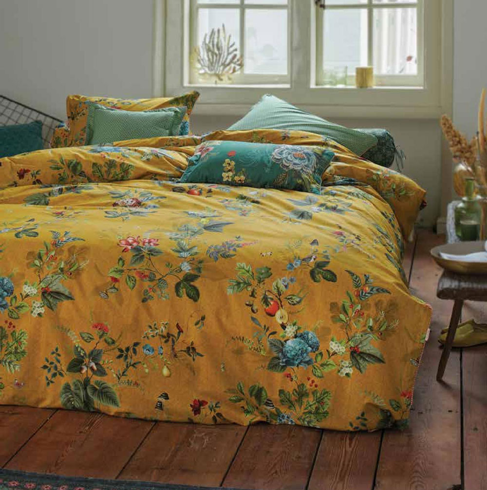 Parure de couette Fall in Leaf Yellow Pip Studio