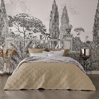 Couvre lit Merveille lune désert Alexandre Turpault