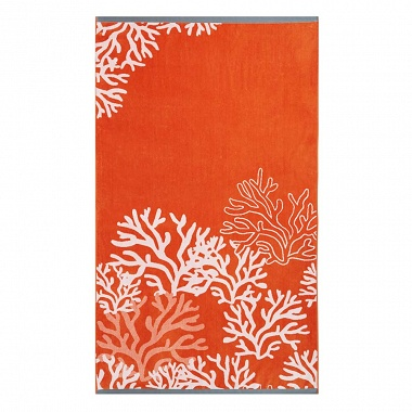 Drap de plage Lagon Orange Anne de Solène