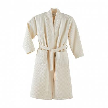 Peignoir kimono Manoir Craie Blanc des Vosges