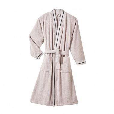 Peignoir kimono Plaisance Perle Blanc des Vosges