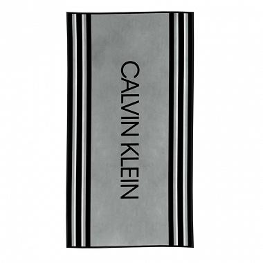 Drap de plage Border Stripe Grey Calvin Klein