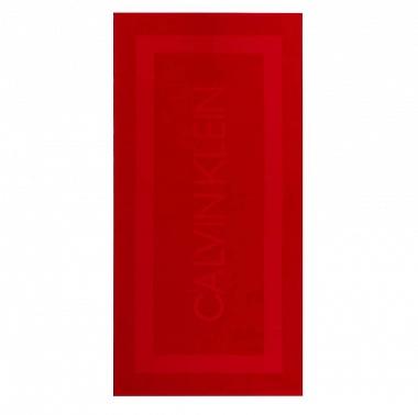 Drap de plage Terry Sculpt Red Calvin Klein