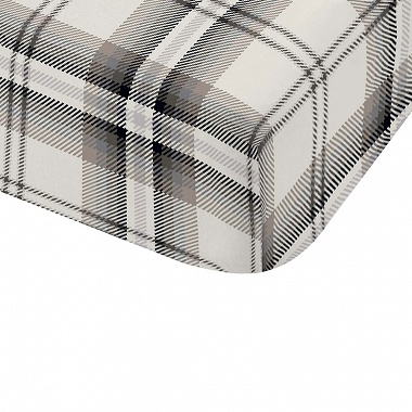 Drap housse Kelso Charcoal Catherine Lansfield