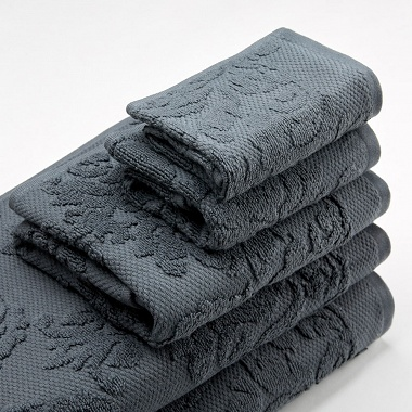 Trousseau Textures Charcoal Catherine Lansfield