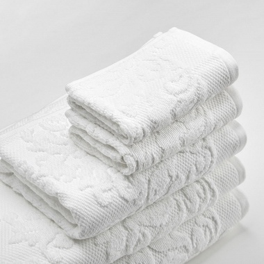 Trousseau Textures White Catherine Lansfield