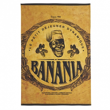 6Torchons Banania Cacao Coucke