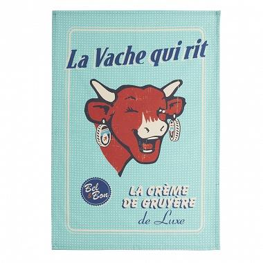 6Torchons La vache qui rit crème de gruyère Coucke