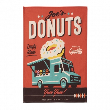 6Torchons Misteratomic Donuts Coucke