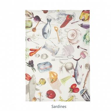 6Torchons Sardines Coucke