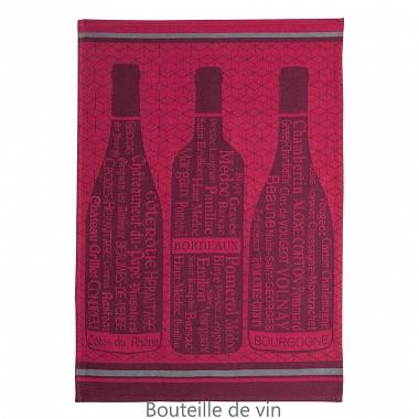 6Torchons Vin Bordeaux Coucke