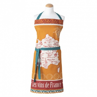 Tablier Vins de France Coucke