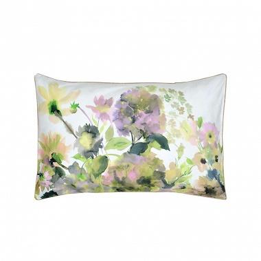 Taie d'oreiller Palace Flower Ochre Designers Guild