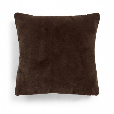 Coussin Furry Chocolate Essenza