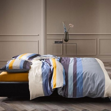 Housse de couette Edith Blue Essenza