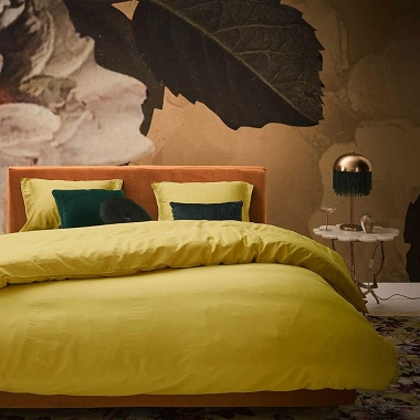 Housse de couette Minte Golden Yellow Essenza