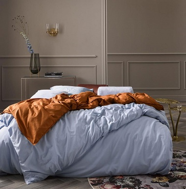 Housse de couette Minte Ice Blue Essenza