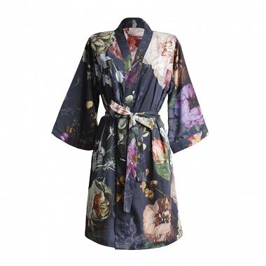Kimono Fleur Night Blue Essenza