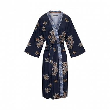 Kimono Sarai Lauren Bohème Blue Indigo Essenza