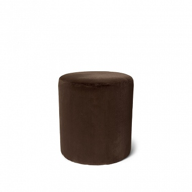 Pouf Furry Chocolate Essenza