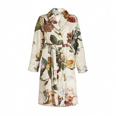 Robe de chambre Fleur Ecru Essenza