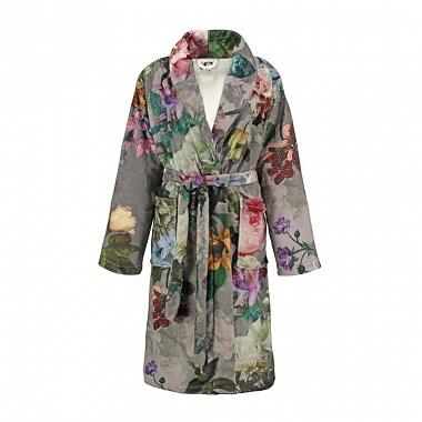 Robe de chambre Fleur Taupe Essenza