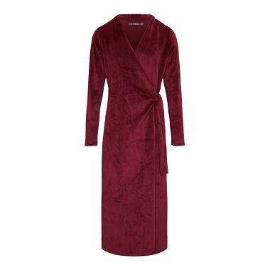 Robe de chambre Vera Uni Cherry Essenza