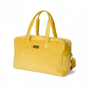 Sac Week-End Pebbles Mustard Essenza
