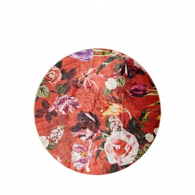 Tapis Rond Scarlet Roseval Essenza