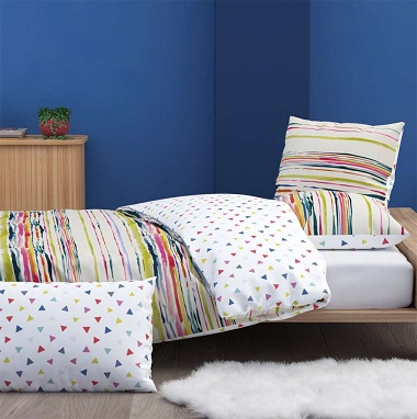 Housse de couette Tempera Multi­co­lore Inspi­ra­tion