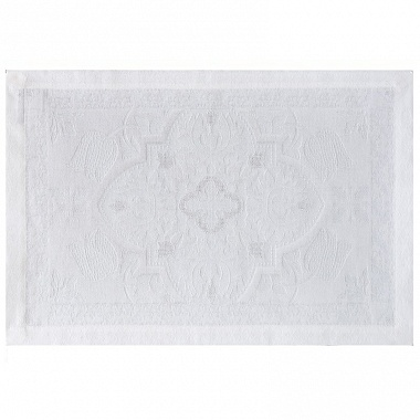4 sets de table azulejos blanc Jacquard Français