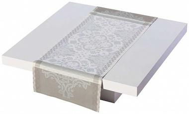 Chemin de table azulejos ciment Jacquard Français