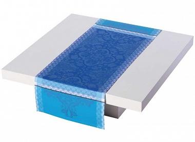 Chemin de table azulejos faience Jacquard Français