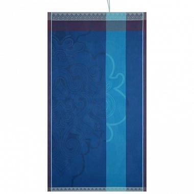 Drap de plage Jaipur lapis lazuli Jacquard Français