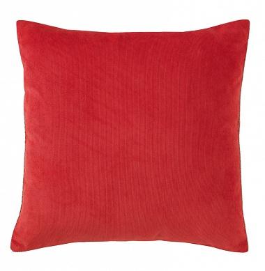 Coussin Jeannette Decos rouge Jalla
