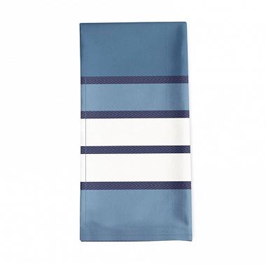 6Serviettes de table Espelette Bleu Nuit Jean Vier