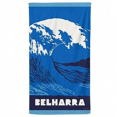 Drap de plage Belharra Saphir Jean Vier