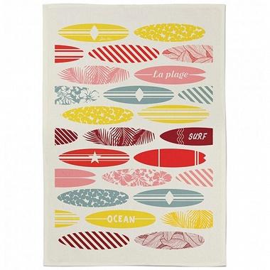 Essuie-mains Koadro Surf Multicolore Jean Vier