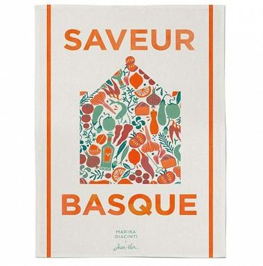 Essuie-mains Udako Saveur Basque épices Jean Vier
