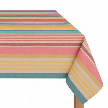 Nappe enduite Sumbilla multicolore Jean Vier