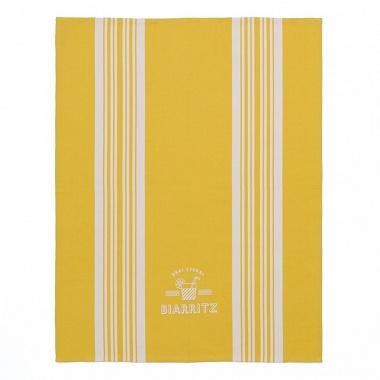 Torchon Iholdy jaune 50×70cm Jean Vier