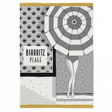 Torchon Kontatu Biarritz Graphite Jean Vier