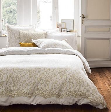 Housse de couette Ombelles Miel Nina Ricci Maison