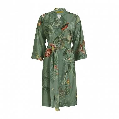 Kimono Floris Grande Green Pip Studio