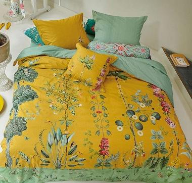 Parure de couette Babylons Garden Yellow Pip Studio