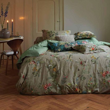 Parure de couette Fall in Leaf Khaki Pip Studio