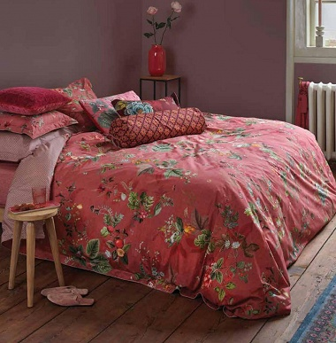 Parure de couette Fall in Leaf Pink Pip Studio