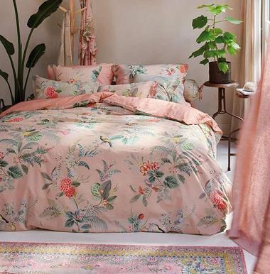 Parure de couette Floris Pink Pip Studio