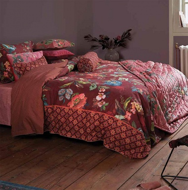 Parure de couette Poppy Stitch Red Pip Studio