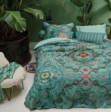 Parure de couette Sultans Carpet Green Pip Studio